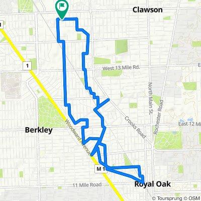 Royal Oak - Very Short Ride