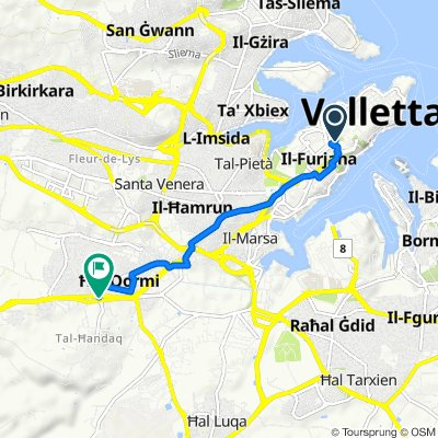 Home from Valletta