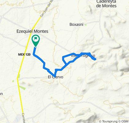 Easy ride in Ezequiel Montes