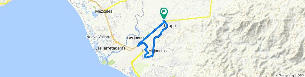 De Calle Río Amazonas 555, Puerto Vallarta a Calle Río Amazonas 563, Puerto Vallarta