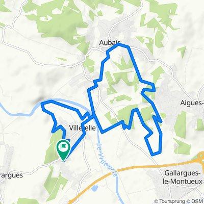 Itinéraire modéré en Villetelle