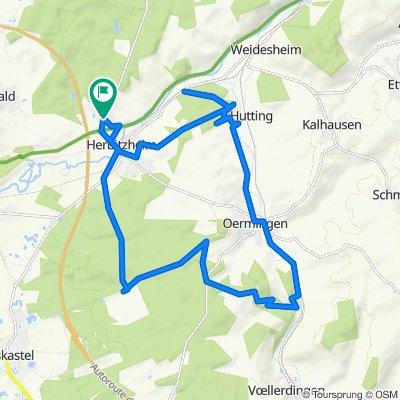 De 8 Rue de Hambach, Herbitzheim à 7 Rue de Hambach, Herbitzheim