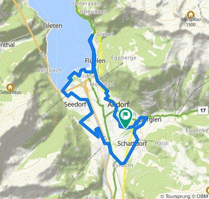 Schnelle Tour in Altdorf UR