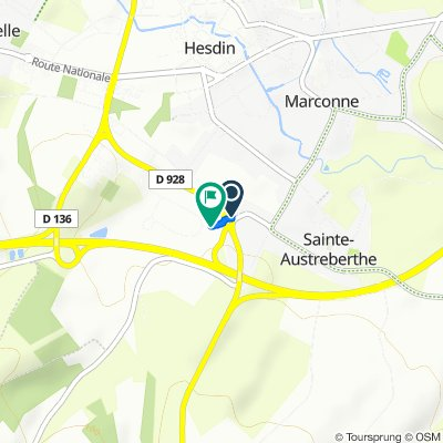 Itinéraire modéré en Sainte-Austreberthe