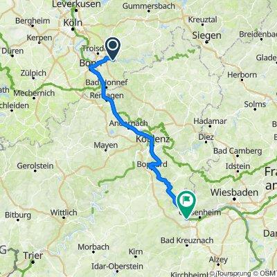 Radtour Tag1