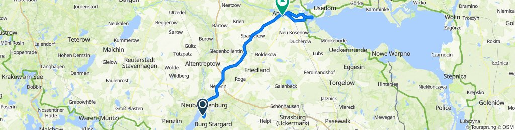 Neubrandenburg - Anklam