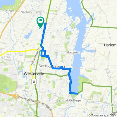 Easy ride in Westerville