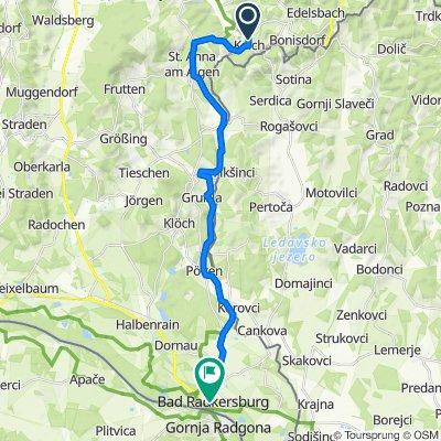 Kalch 82, Kalch nach Hauptplatz, Bad Radkersburg