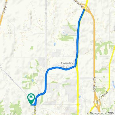 Blackwell Road 1601, Saint Joseph to Blackwell Road 1610, Saint Joseph