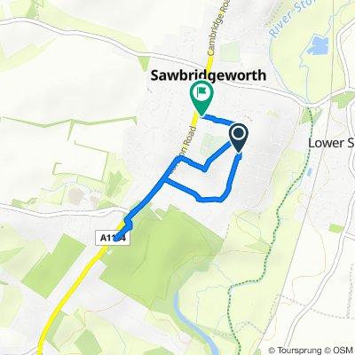 Moderate route in Bishop's Stortford
