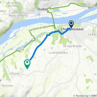 Restful route in La Varenne