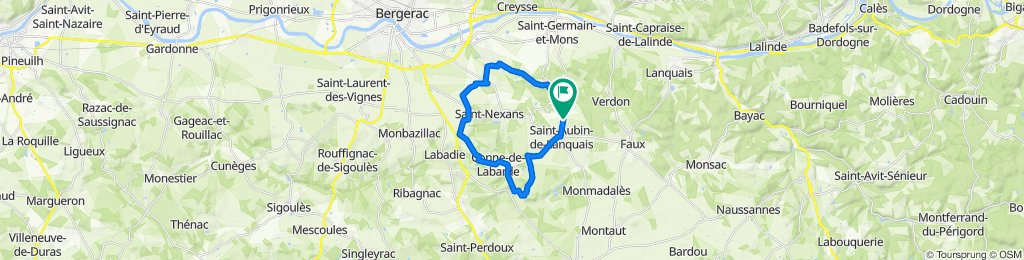 D21, Saint-Aubin-de-Lanquais to D21, Saint-Aubin-de-Lanquais