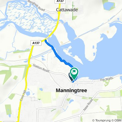 Moderate route in Manningtree