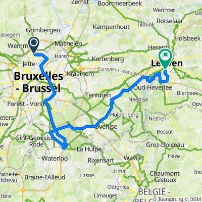 Atomium to Leuven VCT