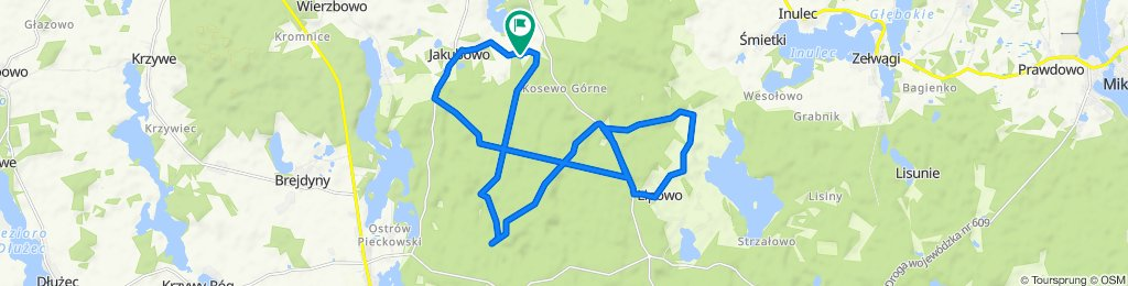 Steady ride in Piecki