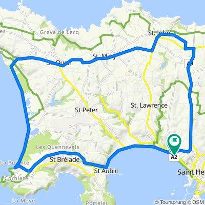 A1, Saint Helier to 29–41 Bellozanne Road, Saint Helier