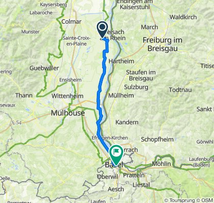 Day 1: Vieux-Brisach - Basel