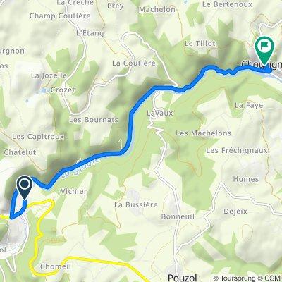 De Champ Grand, Pouzol à 12 Route de la Mairie, Chouvigny
