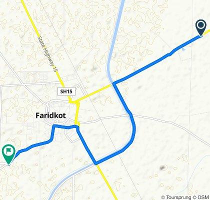 Fast ride in Faridkot