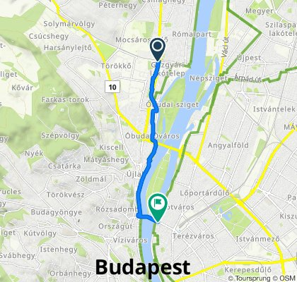 Easy ride in Budapest
