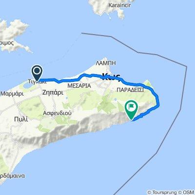 Eparchiaki Odos Tigkakiou nach Griechenland, Kos