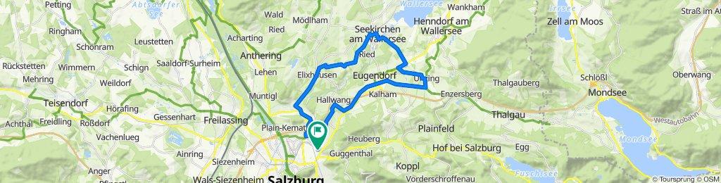 Salzburg – Unzing – Seekirchen – Elixhausen