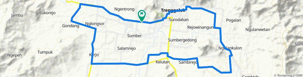 Jalan Nasional III, Karangan to Jalan Nasional III, Karangan