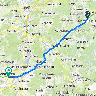 Montreux-Jeune - Montbéliard