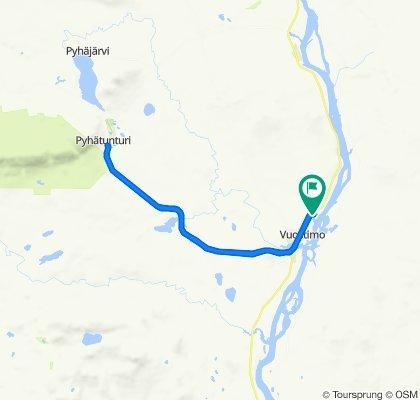 Moderate route in Vuostimo