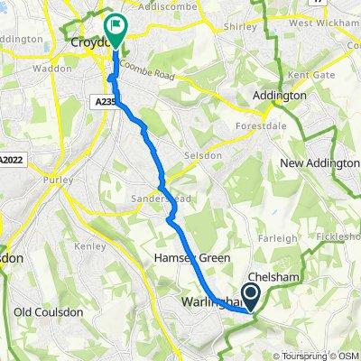 Slow ride in Croydon
