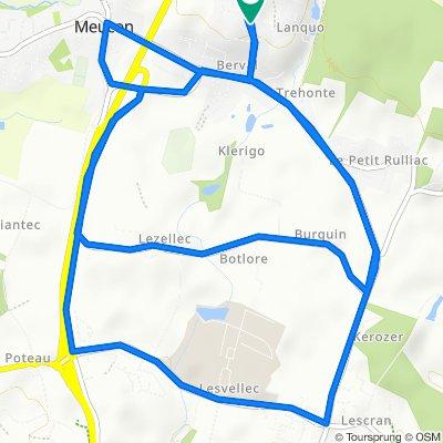 Rue Per Jakez Helias 12, Saint-Avé to Rue Per Jakez Helias 12, Saint-Avé