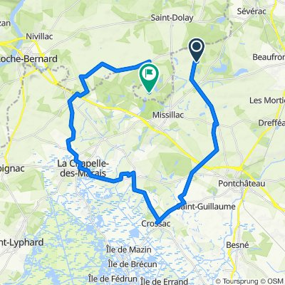 De Le Plessis, Missillac à L'Hôtel Thomas, Saint-Dolay