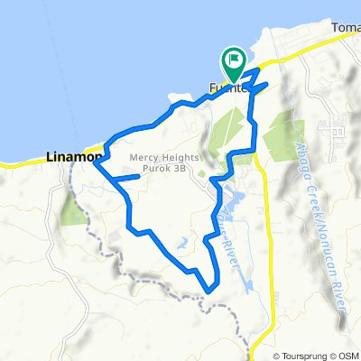 Misamis Oriental - Maria Cristina Boundary Road, Iligan City to Misamis Oriental - Maria Cristina Boundary Road, Iligan City