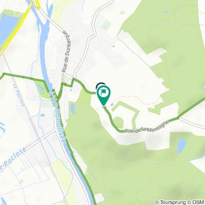 Itinéraire modéré en Watten