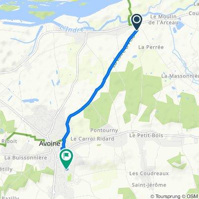 Easy ride in Beaumont-en-Véron
