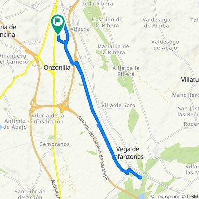 Easy ride in Onzonilla