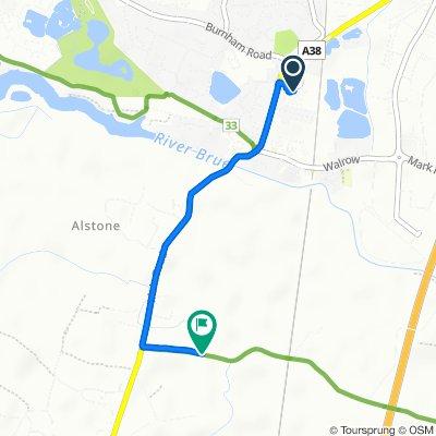 6–18 Caxton Road, Highbridge to 22 New Road, Highbridge