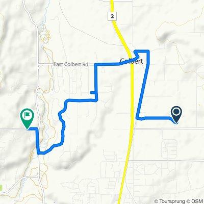 Easy ride in Spokane