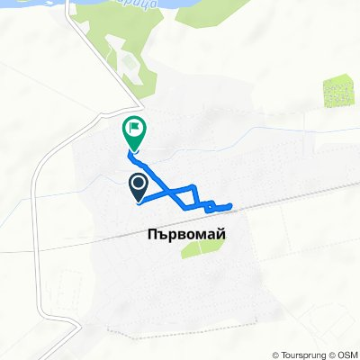 Moderate route in Parvomay