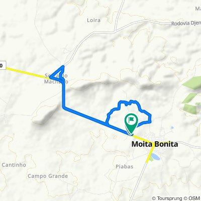 Moderate route in Moita Bonita
