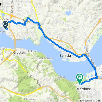 212–299 Sea Crest Cir, Vallejo to 601 Marina Vista Ave, Martinez