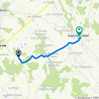De Les Guillains, Coullons à 4 Rue de l'Église, Autry-le-Châtel