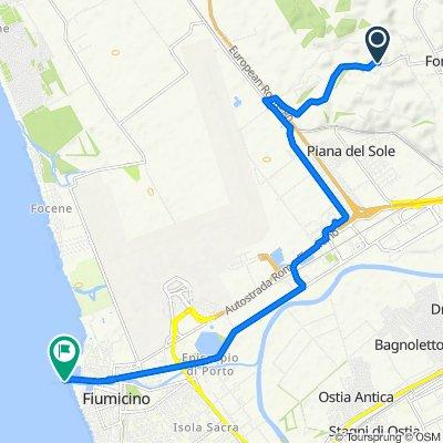 Cracking ride in Fiumicino