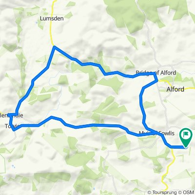 Louise's Alford Routes