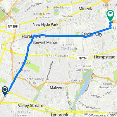 Apple store Route