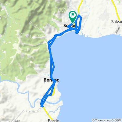 Restful route in Sogod