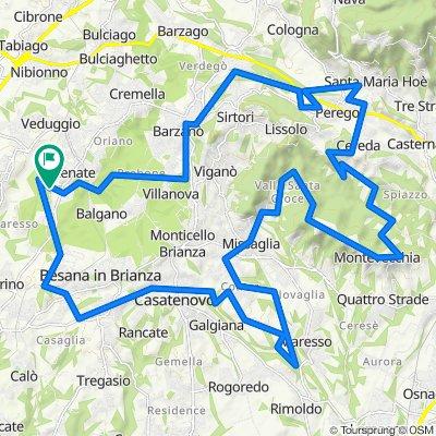 Parco della Valletta, Parco di Montevecchia e Valle del Curone, Colli Briantei