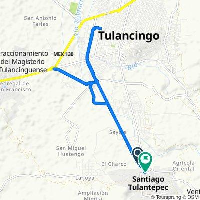Moderate route in Santiago Tulantepec de Lugo Guerrero