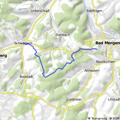 Boxberg - Bad Mergentheim CLONED FROM ROUTE 668952