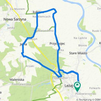 Pętelka Leżajsk-Jelna-Łukowa-Leżajsk